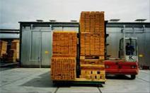Hildebrand-Brunner gleiswagenbeschickung Conventional kilns